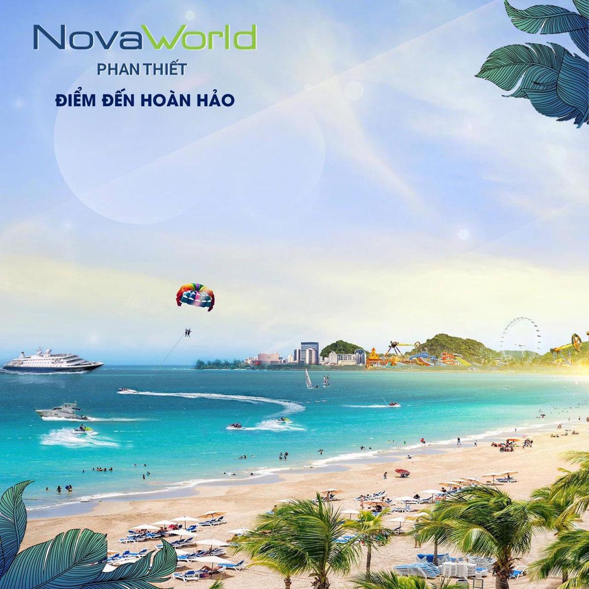 Bãi biển đẹp tại Novaword Phan Thiết