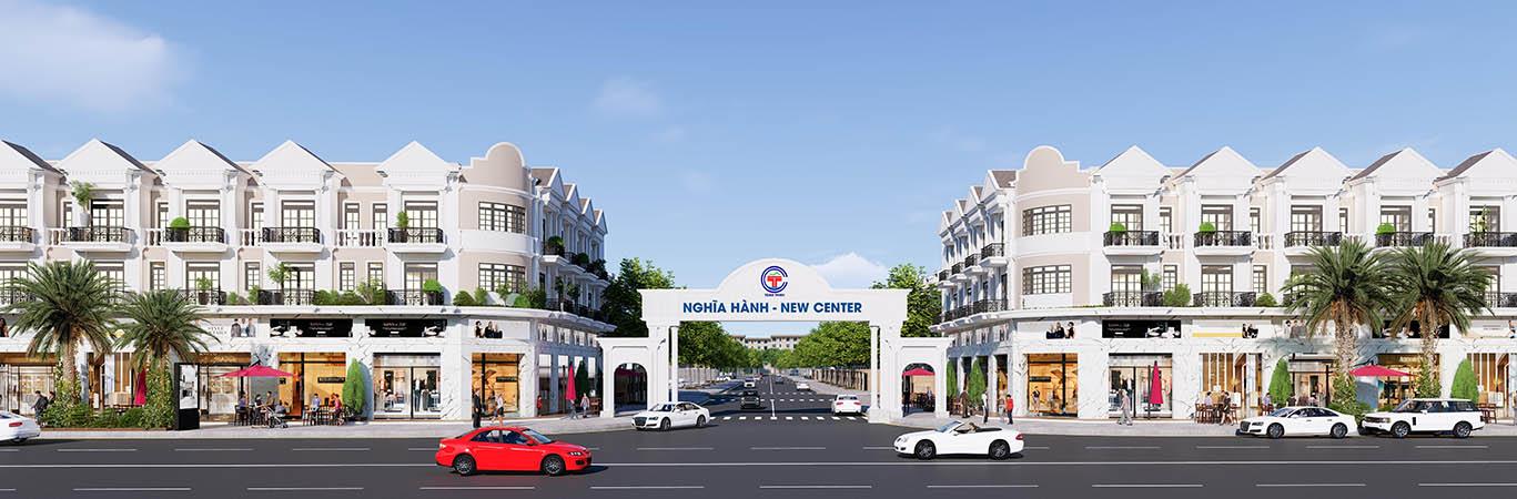 Khu dân cư Nghĩa Hành New Center Quảng Ngãi