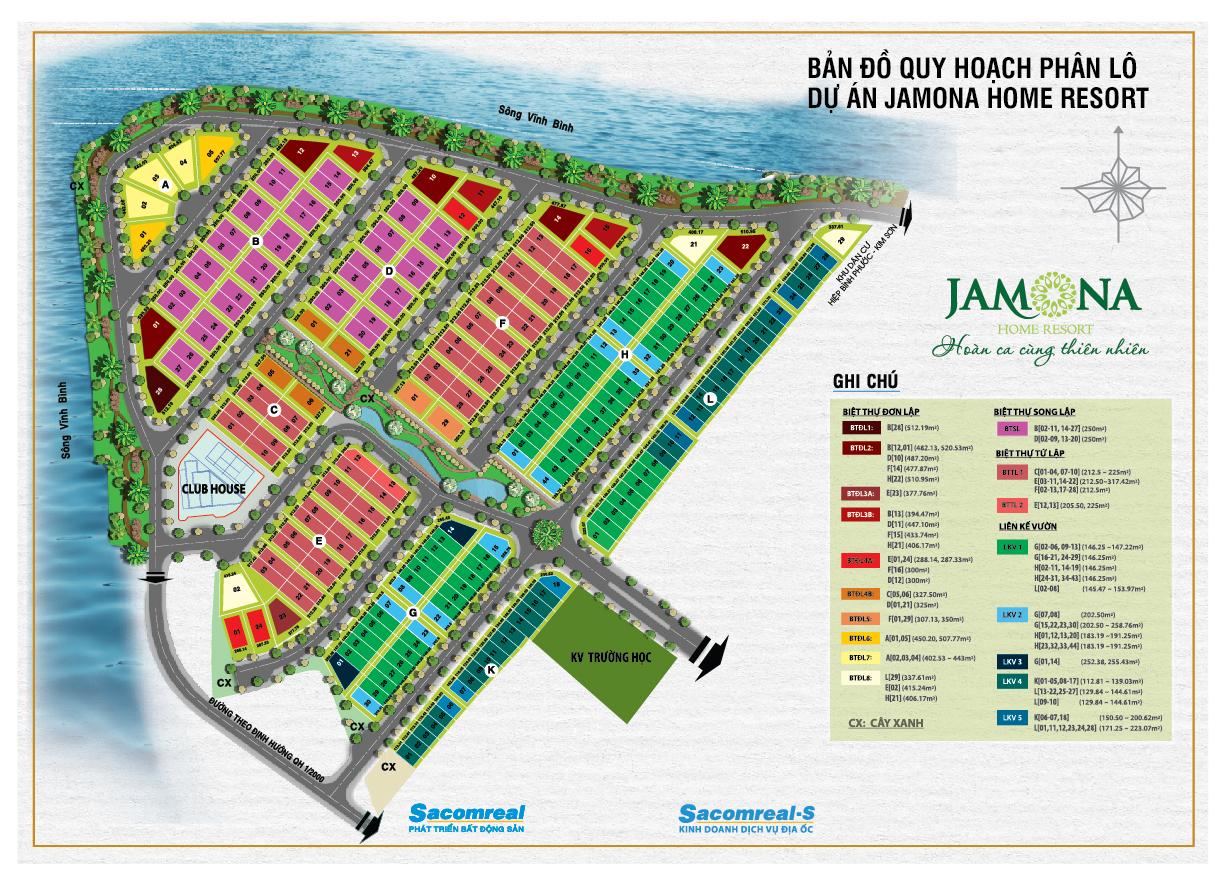 Phân lô jamona-home-resort