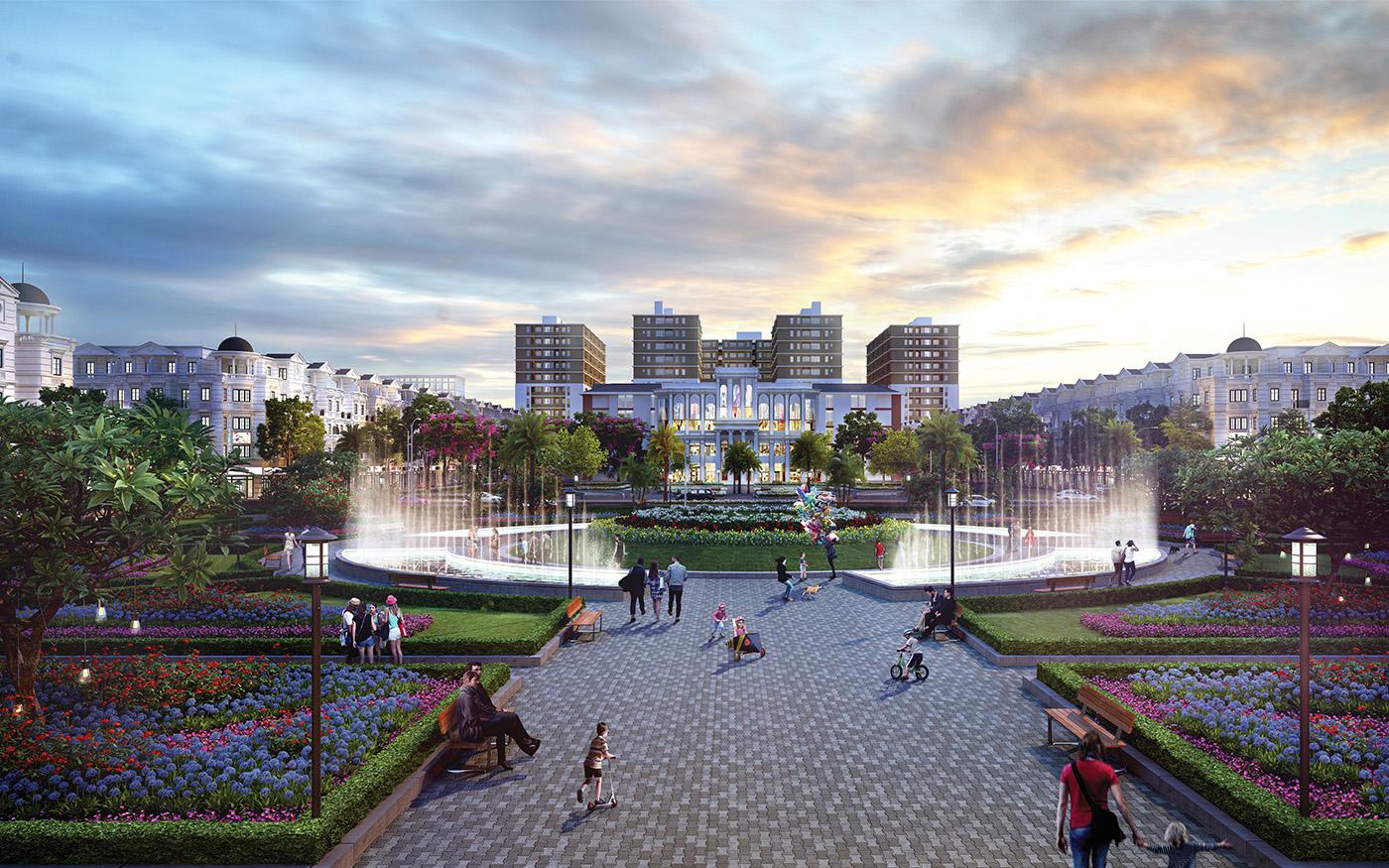 Tiện ích khu công viên trung tâm