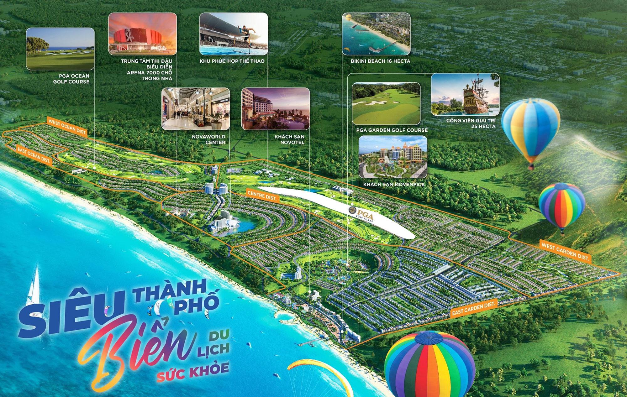 Tổng quan dự án novaworld Phan Thiết
